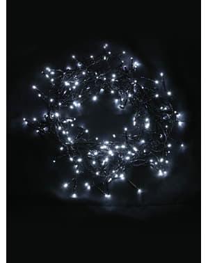 Weihnachtsgirlande mit Multifunktion und kaltweißem Licht