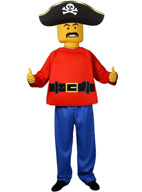 Mr Block Lego, aikuisten asu