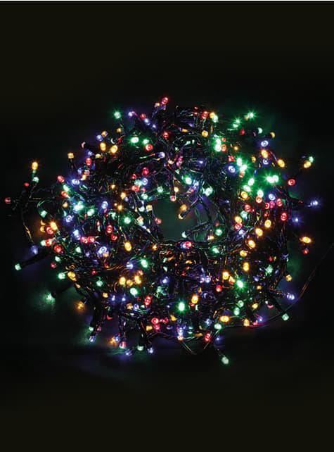 Guirnalda navideña multifunción de luces coloridas