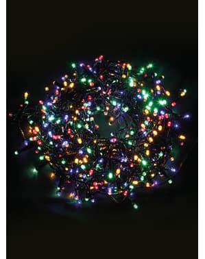Weihnachtsgirlande mit Multifunktion und bunten Leuchten