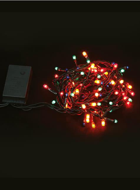 Mini luces navideñas multicolor