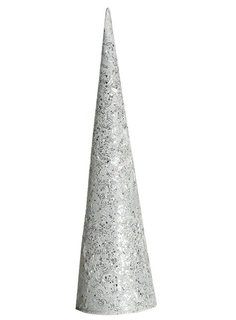 Cône de noël lumineux