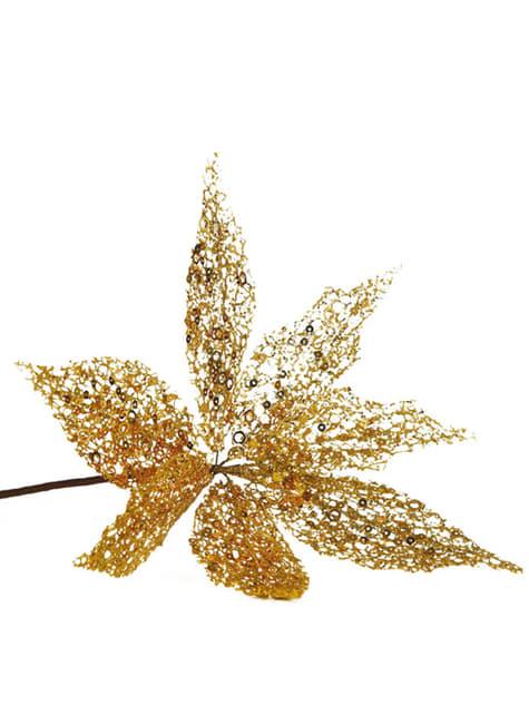 Flor de pascua dorada
