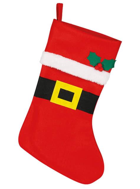 Bota roja de Noel