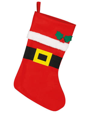 Red Santa Christmas Stocking