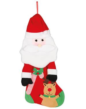 Șosetă Moș Crăciun