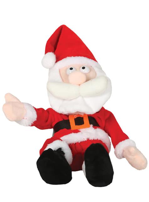 Figura de Papá Noel que ríe a carcajadas