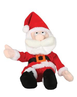 Figur Jultomten som gapskrattar