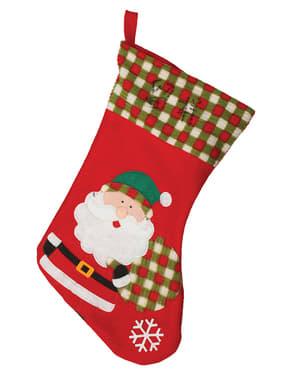 45 cm joulupukki-joulusukka