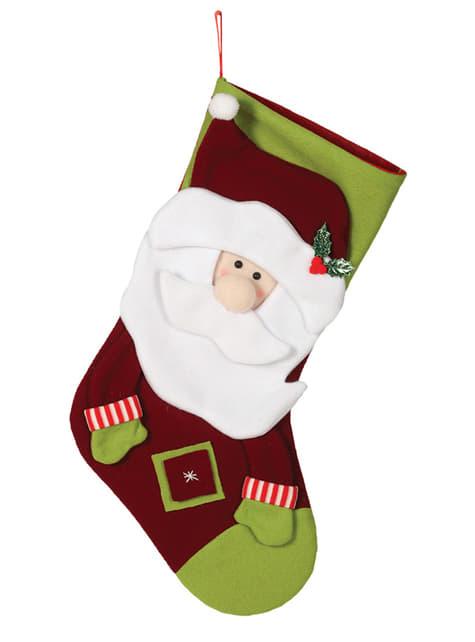 55-cm Vánoční punčocha Santa Claus