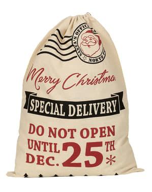 Saco postal de Pai Natal