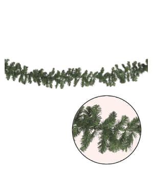 Ghirlandă cu ramuri verzi de Crăciun