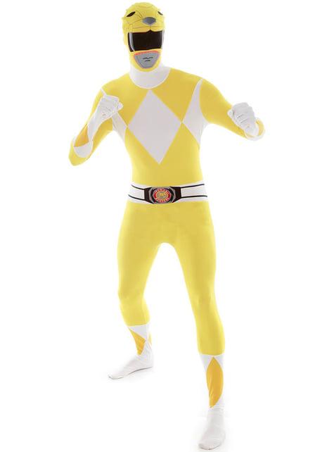 Fato de Power Ranger Amarelo Morphsuit