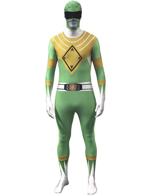 Rohelise võimsusega Ranger täiskasvanute kostüüm