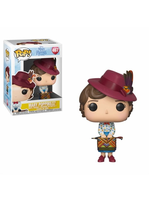 Funko POP! Mary Poppins con bolso