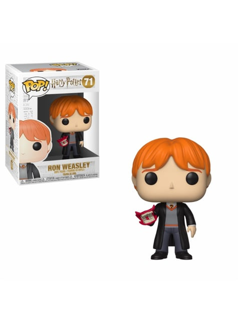 Funko POP! Ron con vociferador - Harry Potter