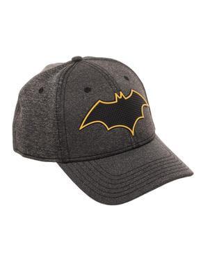 Grijze Batman symbool pet voor volwassenen