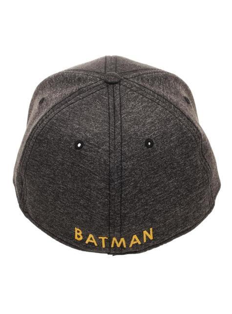 Čepice pdo dospělé symbol Batmana šedá