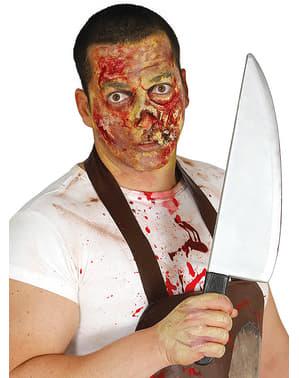 Blodig mördarkniv