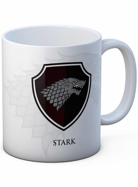 Taza Escudo Stark - Juego de Tronos