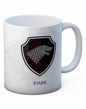Caneca Escudo Stark - Game of Thrones