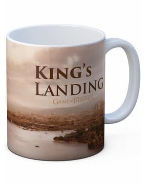 Чаша за кацане на краля - игра на тронове