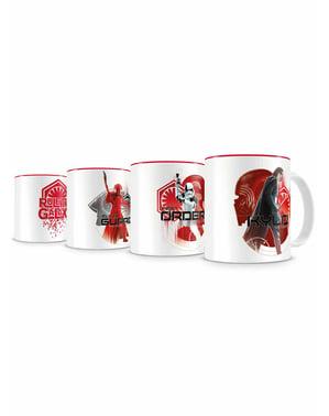 סט 4 כוסות stackable ראשית להזמין מיני - מלחמת הכוכבים: פרק VIII