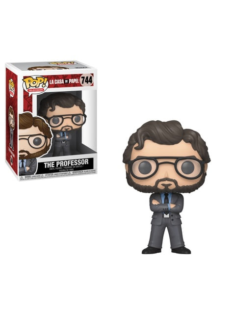 Funko POP! The Professor - La Casa de Papel (Money Heist)