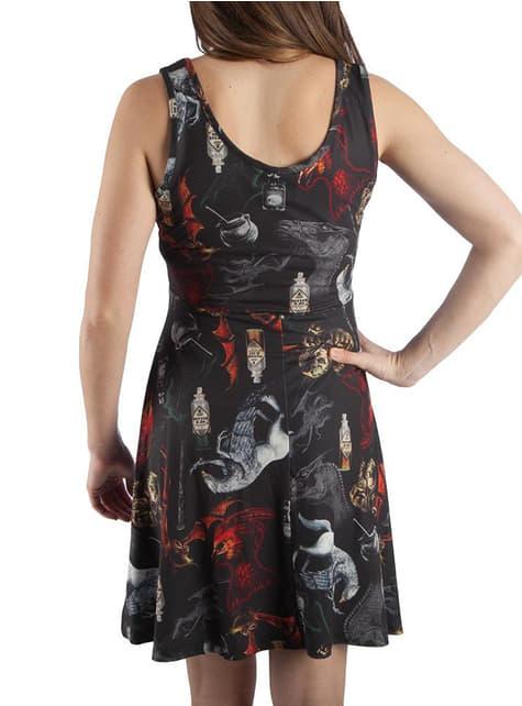 Vestido de Harry Potter estampado para mujer - original