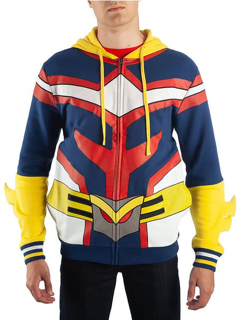 All Might hoodie for men - My Hero Academia