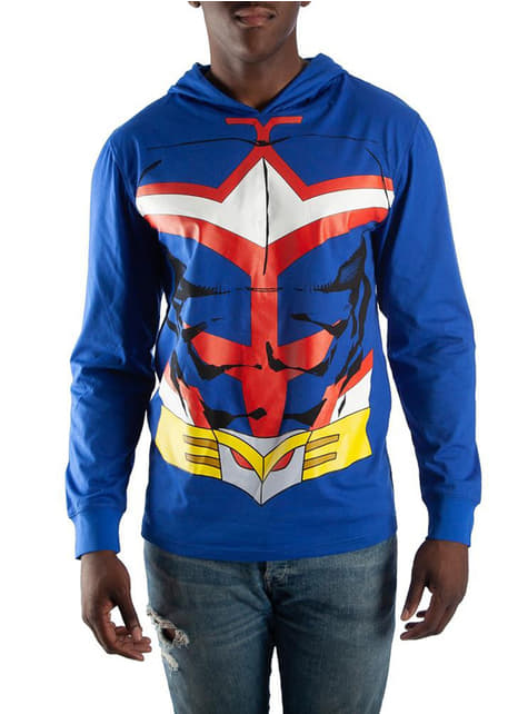 All Might Suit hoodie for men - My Hero Academia