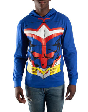 Sweatshirt de All Might Suit para homem - My Hero Academia