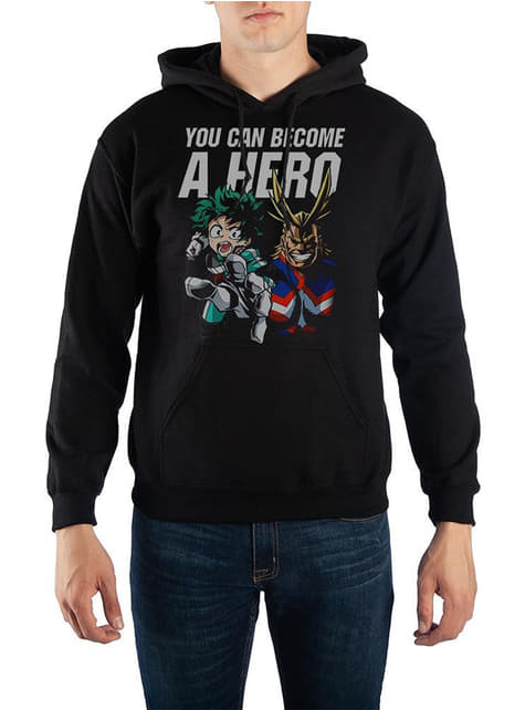 Deku hoodie for men - My Hero Academia