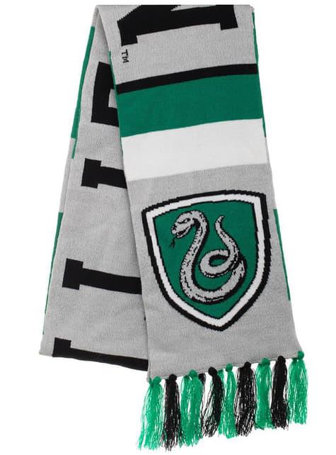Slytherin sjaal voor volwassenen - Harry Potter