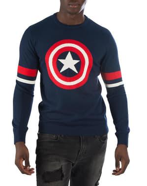 Kapteeni Amerikka -neulepusero Miehille - Marvel