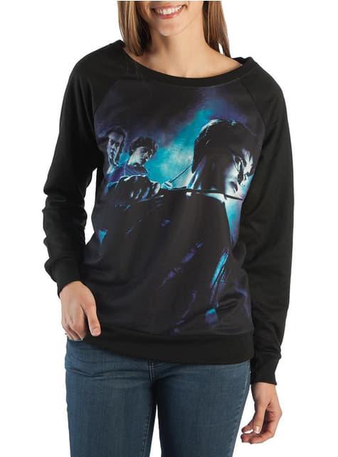 T-shirt de Harry Potter e os Talismãs da Morte para mulher