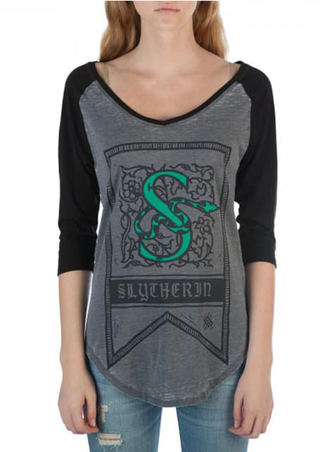 Slytherin T-Shirt for women - Harry Potter