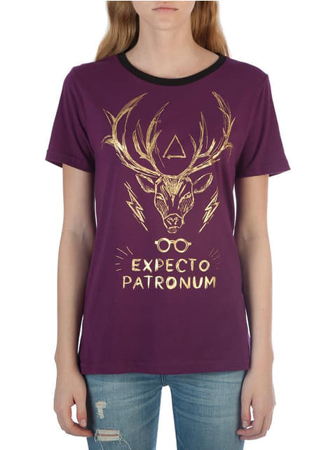Camiseta de Harry Potter Expecto Patronum para mujer