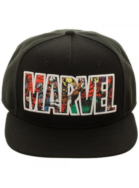 Marvel Logo Kappe für Erwachsene
