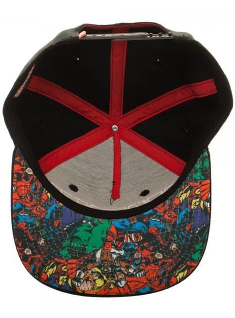Czapka dla dorosłych logo Marvel