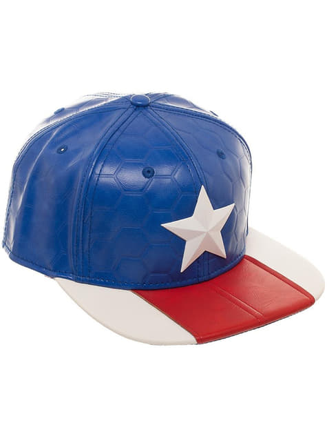 Captain America cap for adults