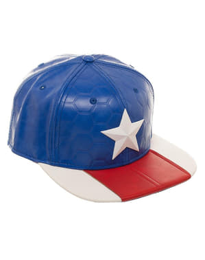 Keps Captain America för vuxen