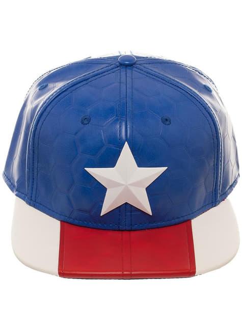 Gorra de Capitán América para adulto - oficial
