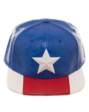 Captain America Kappe für Erwachsene