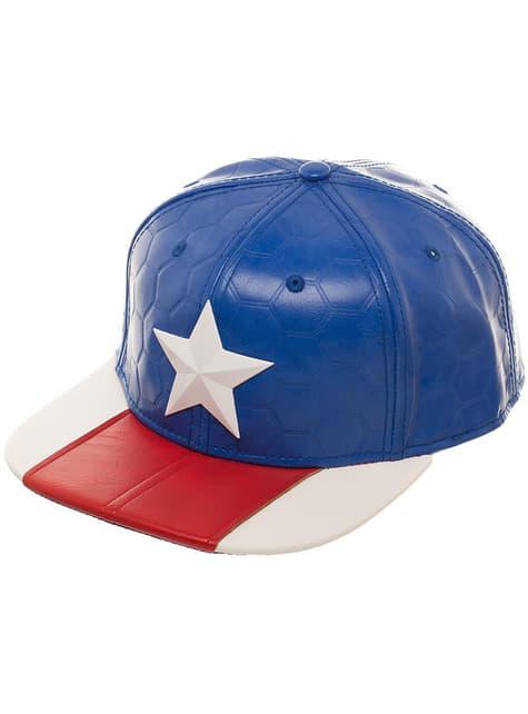 Gorra de Capitán América para adulto - barato