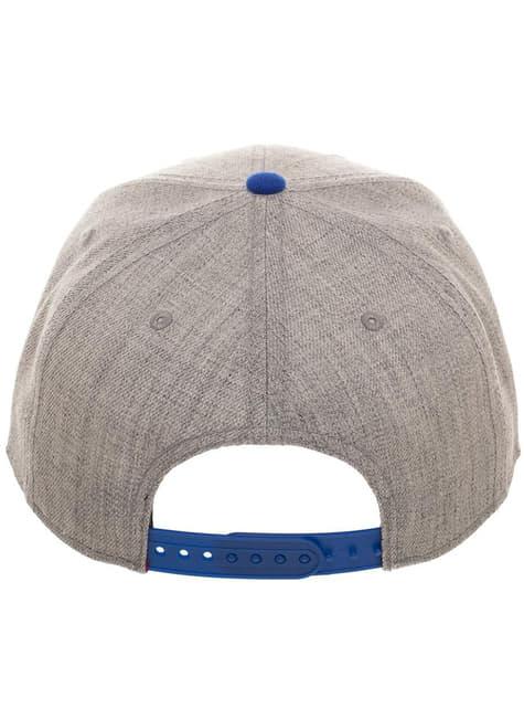 Gorra de Capitán América gris para adulto - el más divertido