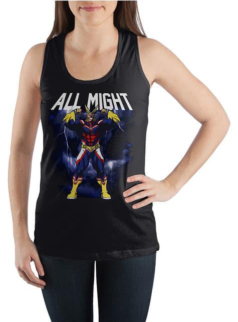 All Might T-Shirt voor vrouw - My Hero Academia