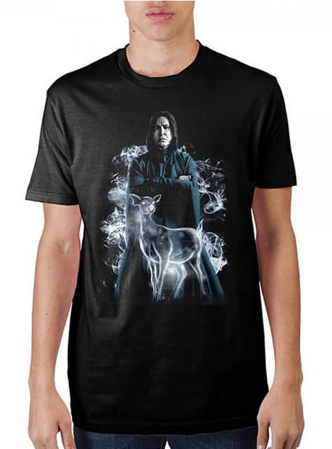 T-shirt de Severus Snape Patronum para homem - Harry Potter