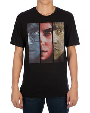 Harry Potter Threadpixel T-shirt til mænd