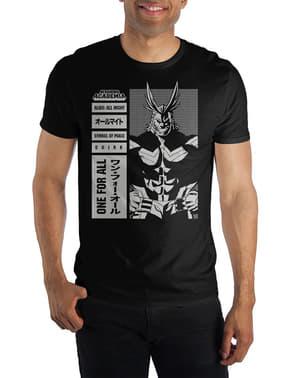 T-shirt de All Might para homem - My Hero Academia